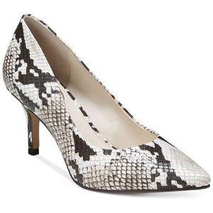Like new Alfani Step n Flex pointed heels